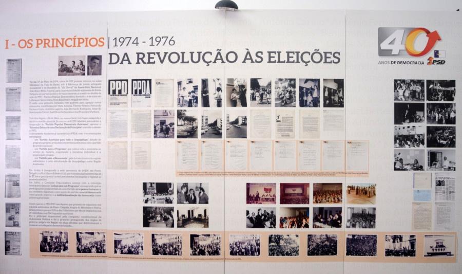 PSD/Açores expõe 40 Anos durante festas do Senhor Santo Cristo
