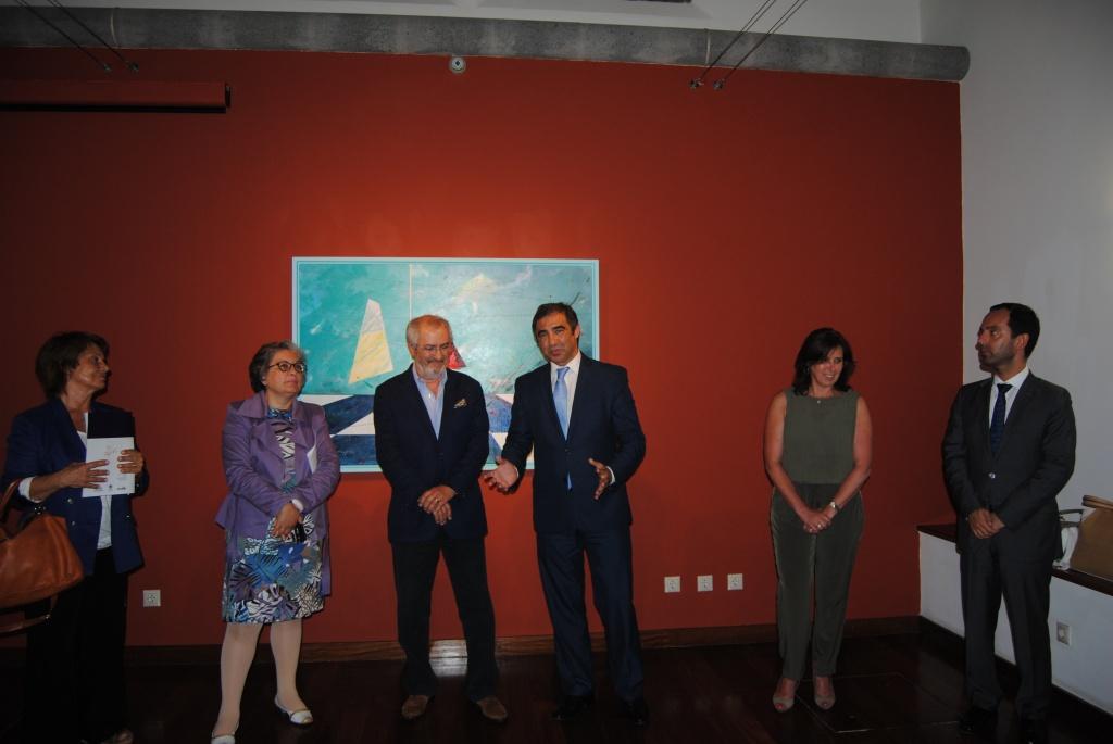 Exposição de Ferreira Pinto no Centro Municipal de Cultura