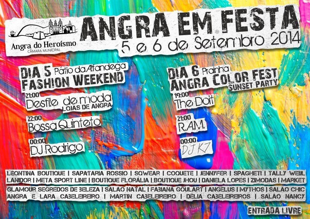 Angra Color Fest a 6 de setembro