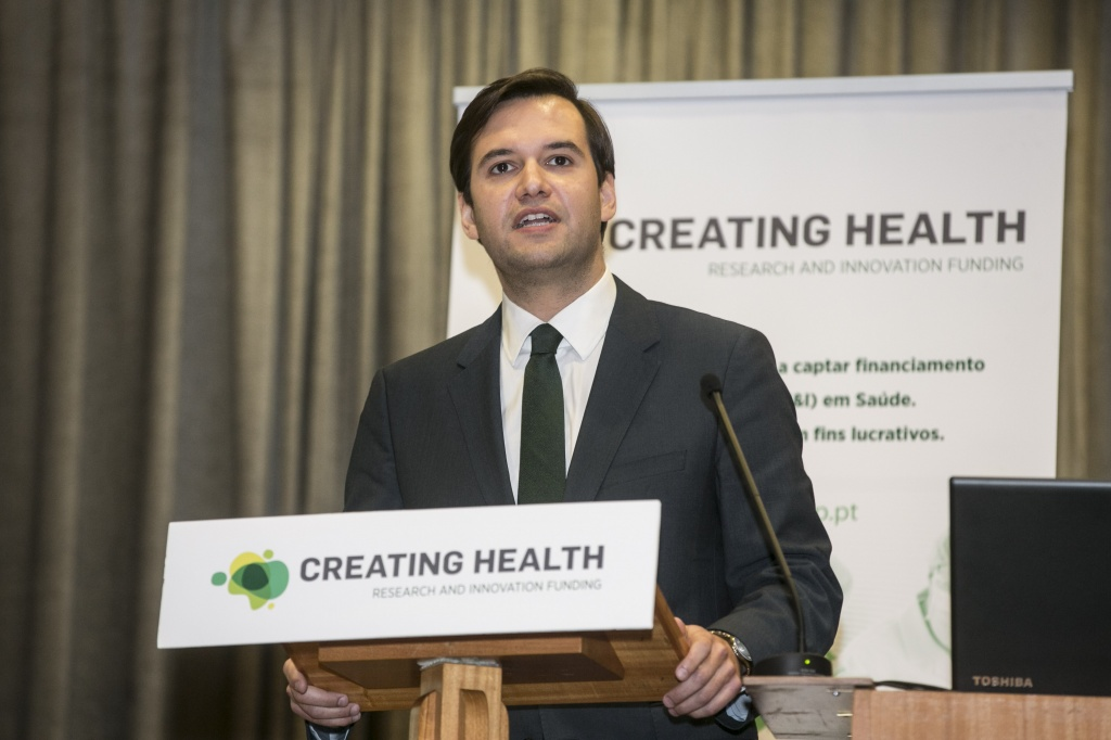 CREATING HEALTH quer apoiar a duplicar investimento europeu na Saúde Nacional