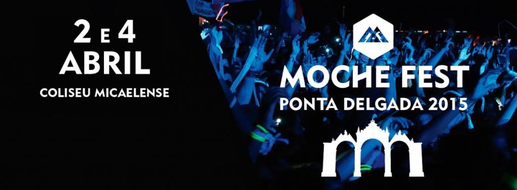 O MOCHE PONTA DELGADA FEST arranca amanhã no Coliseu Micaelense