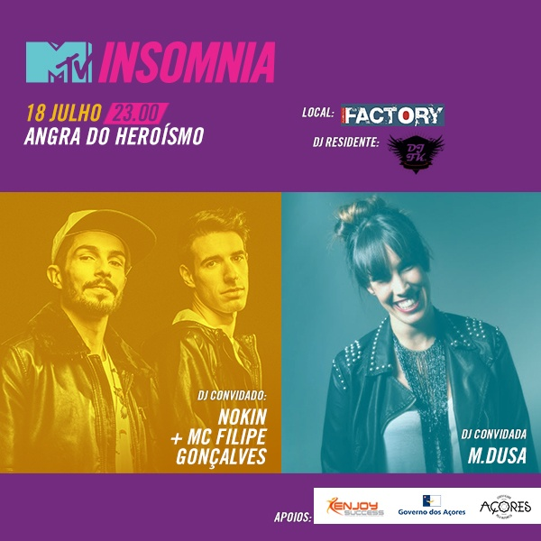 MTV Insomnia! em Angra do Heroísmo