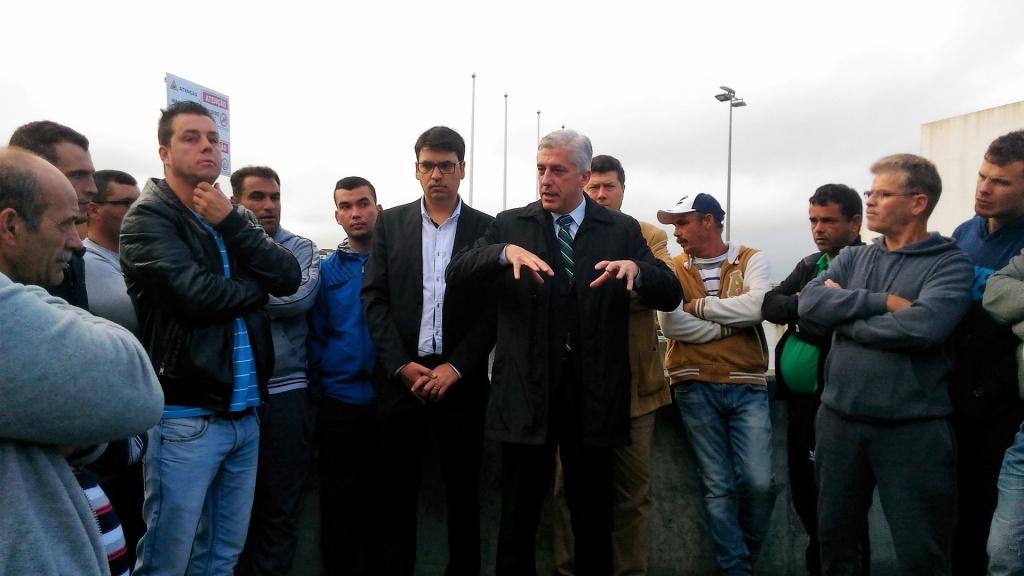 Duarte Freitas preocupado com centenas de pescadores sem rendimentos