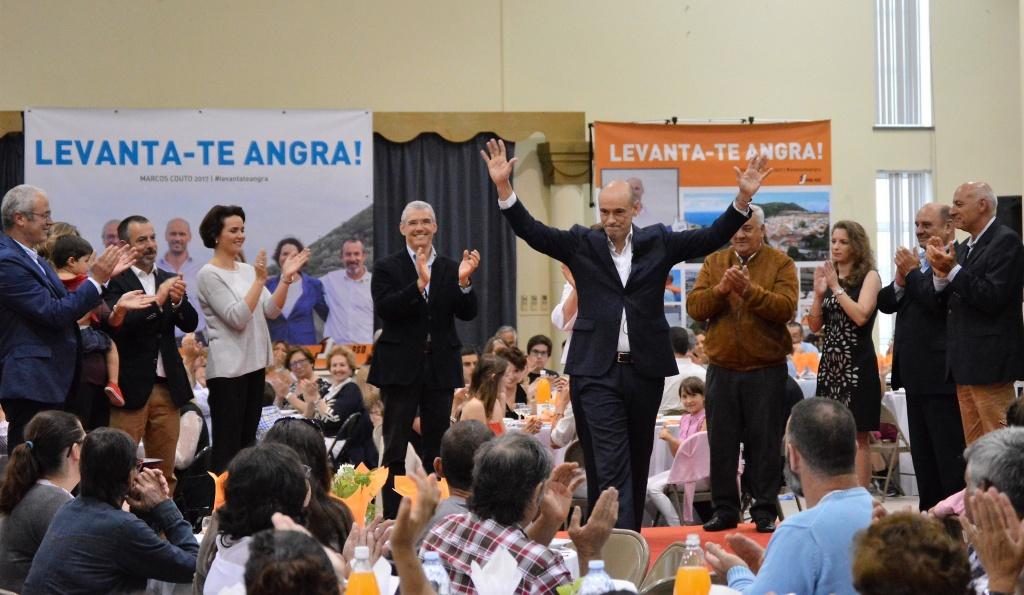 Marcos Couto defende uma voz ativa para Angra do Heroísmo