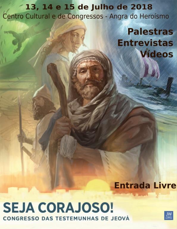 """As Testemunhas de Jeová realizam congresso anual com o tema: """"Seja Corajoso!"""""""